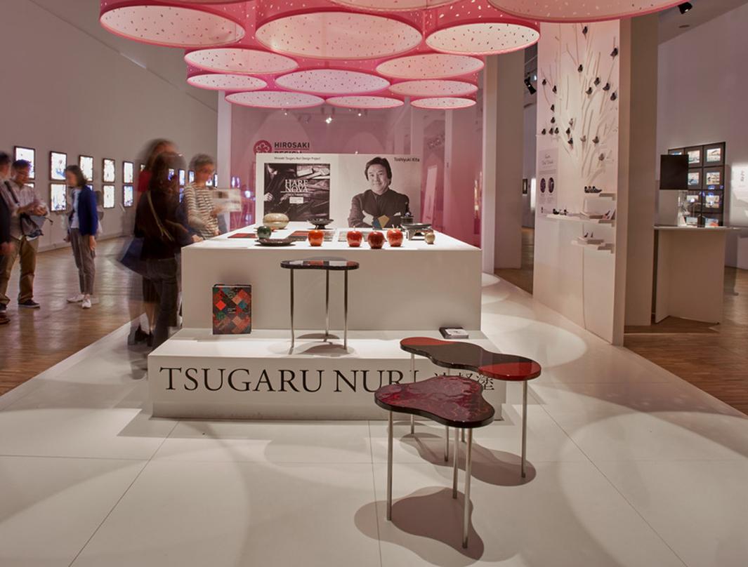Tsugaru Nuri Design Project with Toshiyuki Kita at Triennale 2017